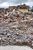 разрушенного здания — Стоковое фото