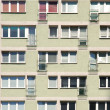 Stock Photo: Windows and balconies