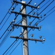 High voltage power line — Stock Photo #3055759