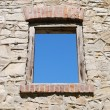 Old window — Stock fotografie