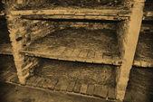 Auschwitz Birkenau camp — Stock Photo