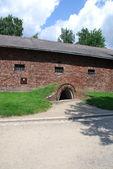 Auschwitz Birkenau concentration camp — Stock Photo