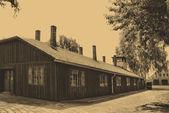 Lager auschwitz-birkenau — Stockfoto