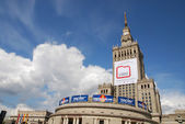 Palace of Culture and Science in Warsaw — ストック写真