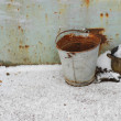 Old bucket — Foto Stock