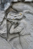 Engel standbeeld — Stockfoto