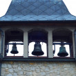 Stock Photo: Old Iron Mission Bell