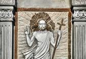 Gezicht van jezus — Stockfoto