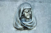 Woman statue — Stock Photo