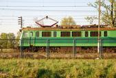 Electric locomotive — Stock Photo