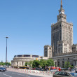 Stock Photo: Palace of Culture and Science in Warsaw
