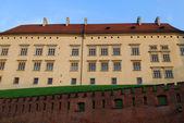 Royal wawel slott, Krakow — Stockfoto