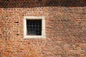 Pencere, bir ortaçağ bina — Stok fotoğraf