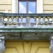 Old house on the Main Square in Cracow — Stock Photo