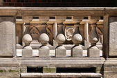 Stone balustrade — Stockfoto