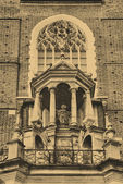 Fragment of St Mary's Church in Cracow — Photo