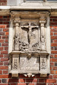 Fragment of St Mary's Church in Cracow — Stockfoto