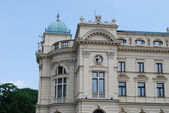 The baroque style theater built in 1892 in Cracow — Foto de Stock