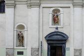 Church dedicated to Saint Thomas the Apostle — Stock Photo