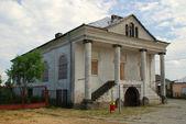 Klimontow の古いシナゴーグ。ポーランド — ストック写真