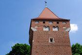 башня stolarska в кракове — Стоковое фото