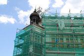 Sukiennice are under renovation — Foto Stock