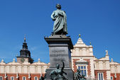 Statue of the Polish poet Adam Mickiewicz — Stock Photo