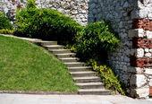 Viejas escaleras — Foto de Stock