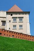 在克拉科夫的皇家瓦维尔城堡 — 图库照片