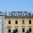 House on the old city in Cracow — Stock Photo