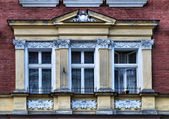 House on the old city in Cracow — 图库照片