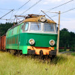 Stock Photo: Locomotive on line