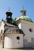 St. James Church on Main Square in Cracow — Stock Photo