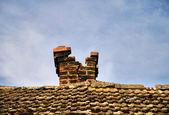 Vieja chimenea — Foto de Stock