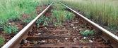 železniční trať — Stock fotografie