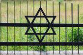 Valla en el viejo cementerio judío en ozarow. polonia — Foto de Stock
