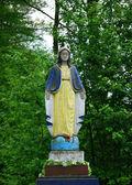 Heliga Maria staty — Stockfoto
