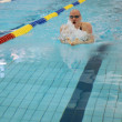 Swimming race - Foto Stock