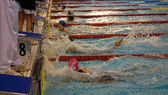 Swimming race — Photo