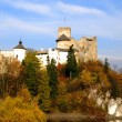 Castle in Niedzica. Poland — Stock Photo