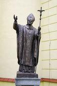 Pomnik jana pawła ii — Zdjęcie stockowe