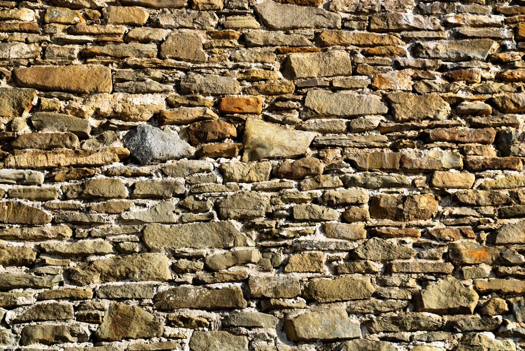 Old stone wall, may be used as background  — Stock Photo #3656459