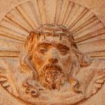 Face of jesus — Stock Photo