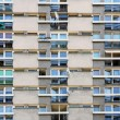 Windows and balconies — Stock Photo