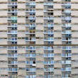 Windows and balconies - Foto Stock