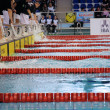 Swimming race - Stockfoto