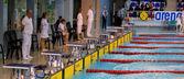 Schwimmen-rennen — Stockfoto