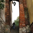 Stock Photo: DominicGate in Sandomierz, Poland