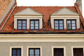 Old home in Sandomierz — Stock Photo