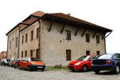 Stara synagoga w sandomierzu, polska — Zdjęcie stockowe
